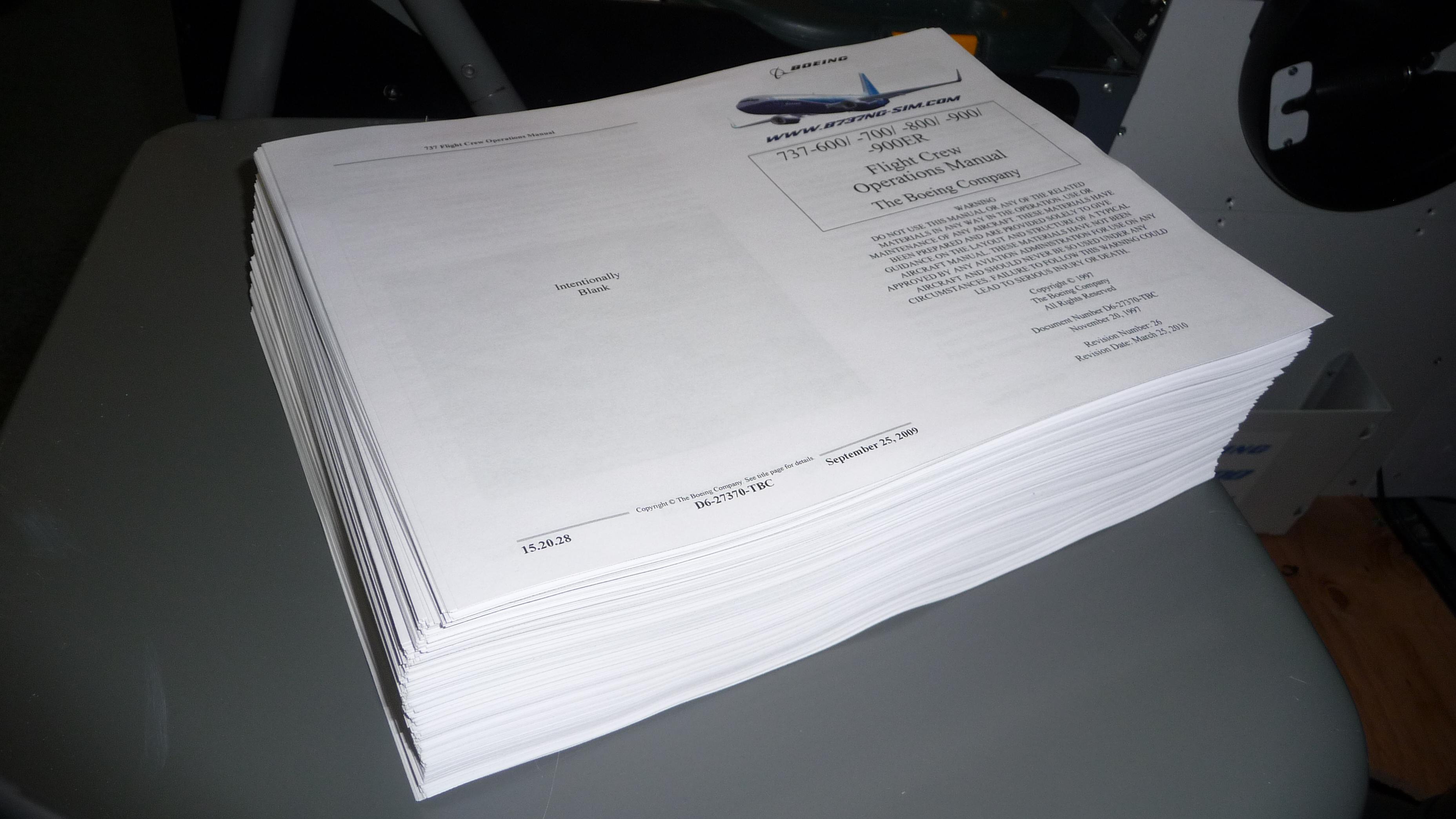 Flight Crew Operations Manual